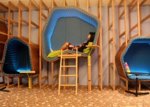 nap pod at Google Sydney office