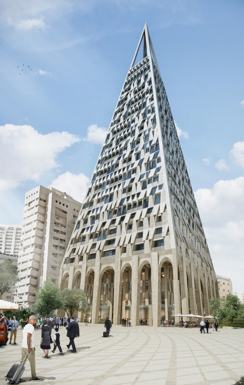 The Pyramid rendering