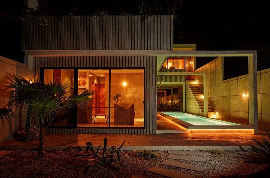 Three vacational studios combine to shape stylish Casa T