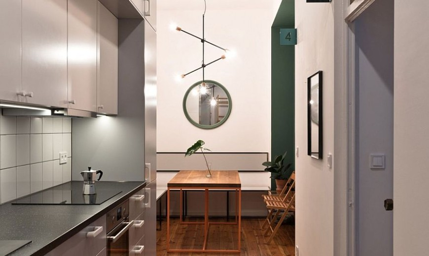 Tiny Student Apartment in Poznan Works Magic with Limited Space
