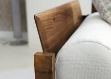 Trendy contemporary sofa showcases the very best of fine Italian craftsmanship