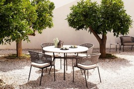 Trendy, ergonomic and all-weather outdoor chairs from Tribu