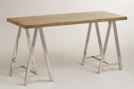 Trestle desk from World Market