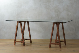 Trestle table from CB2