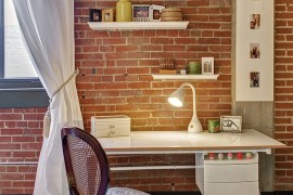 Turn even the tiniest nook in your home into a lovely workspace