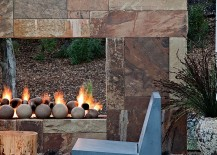 Turn the fireplace into a striking focal point