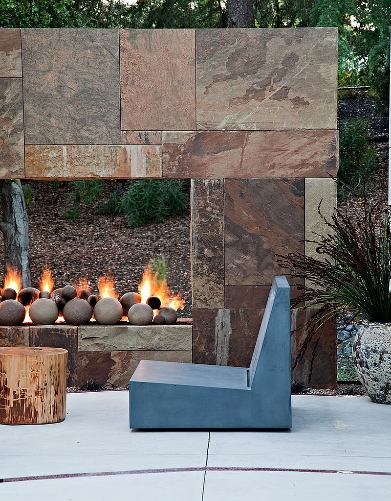 Turn the fireplace into a striking focal point [Design: WA Design Architects]