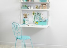 Wall desk from The Land of Nod