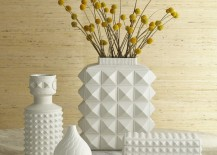 White porcelain pieces from Jonathan Adler