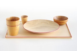 Wooden Tableware for Isuke