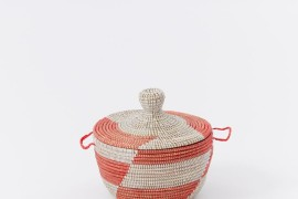 Woven basket from West Elm