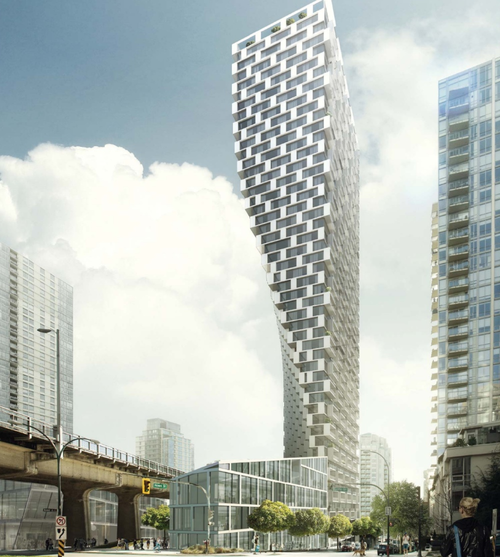 The 52-storey Vancouver House.