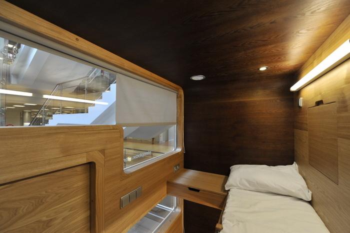 Sleepbox sleeping pods
