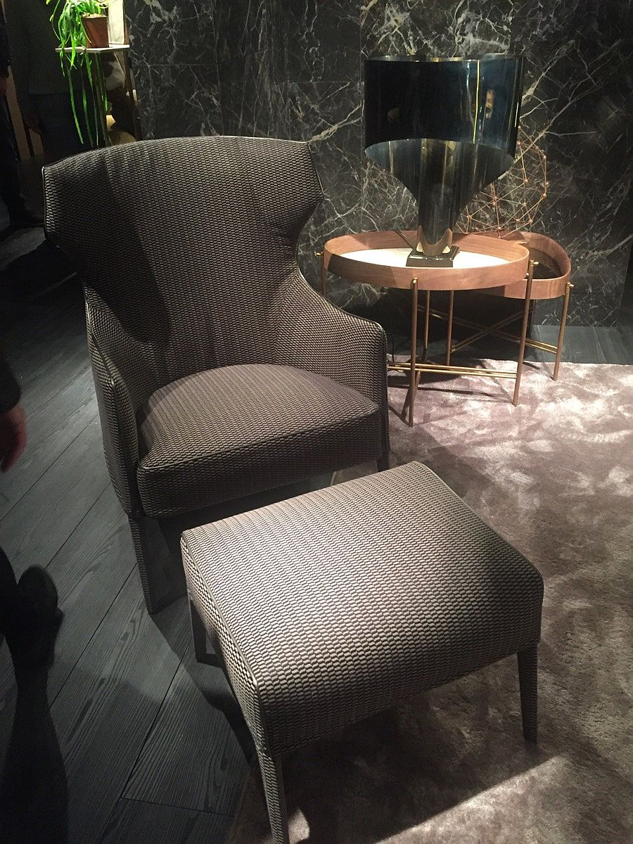 A comfy chair to sink in - Salone 2016