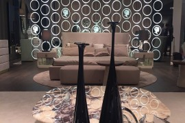 A living room display that wows - Alberta Salotti at Salone del Mobile 2016