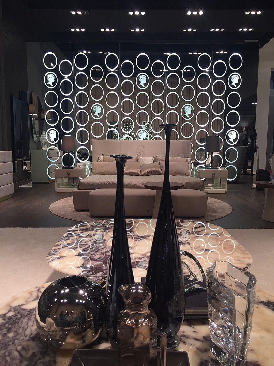 A living room display that wows – Alberta Salotti at Salone del Mobile 2016