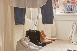 Adjustable shoe organizer from Urban Outfitters