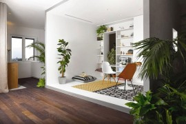 Apartment Brazilian Taste in Milan filled with natural greenery