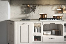 Arrital vintage kitchen with warm finishes and smart design 270x180 Contrada: Time for a Modern Vintage Makeover from Arrital
