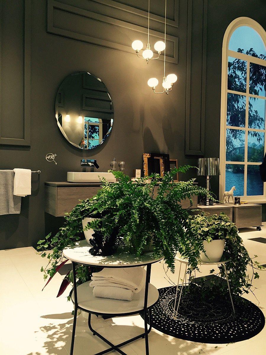 Bathroom decorating ideas from Salone del Mobile 2016 - inda