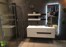 Bathrooms from Artesi, Ardeco and Agha at Slaone del Mobile 2016