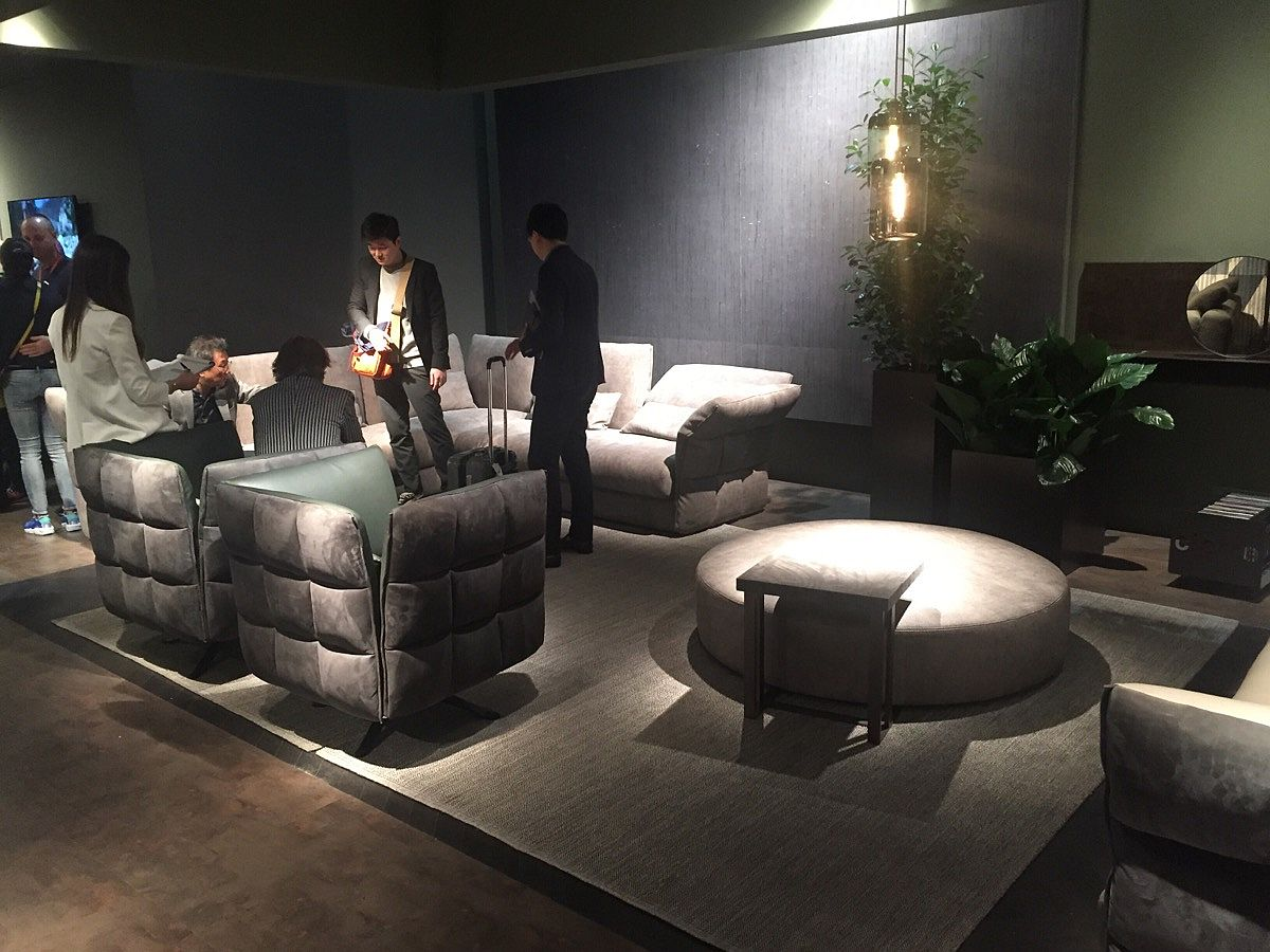 Comfy decor on display at Salone 2016 from cierre