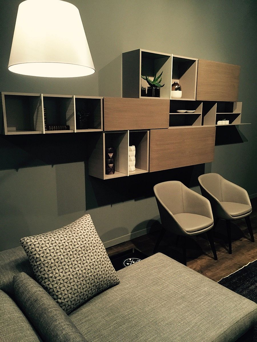 open shelving units living room live salone mobile 2016 highlights from milan 21886
