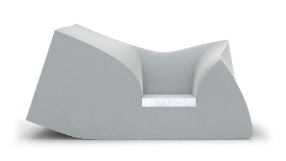 Compression sofa foam
