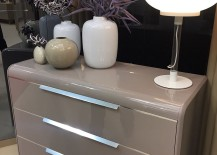 Contemporary nightstand design on display at iSaloni 2016