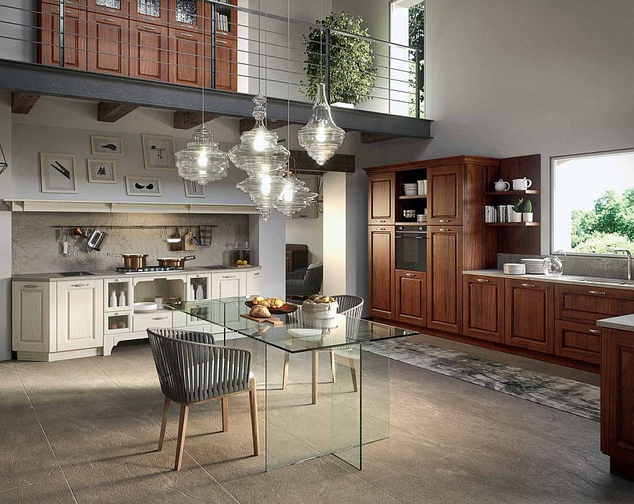 Contrada kitchen - Vintage collection from Arrital