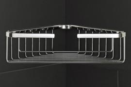 Corner shower basket from Restoration Hardware