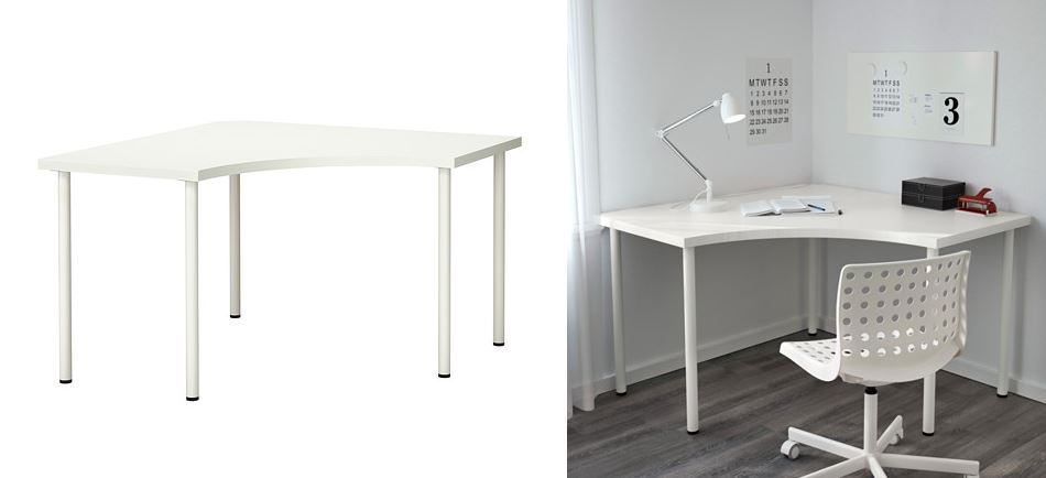 Corner table from IKEA