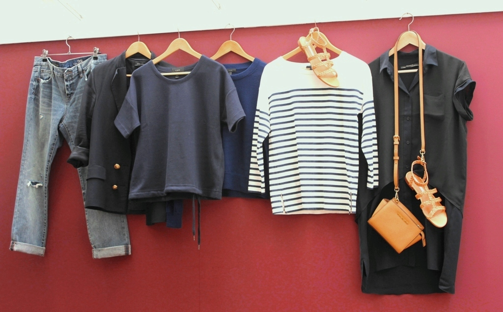 Create your own capsule wardrobe How to Display Your Capsule Wardrobe