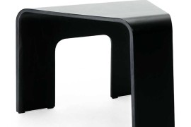 Curved corner table from Circle Furniture