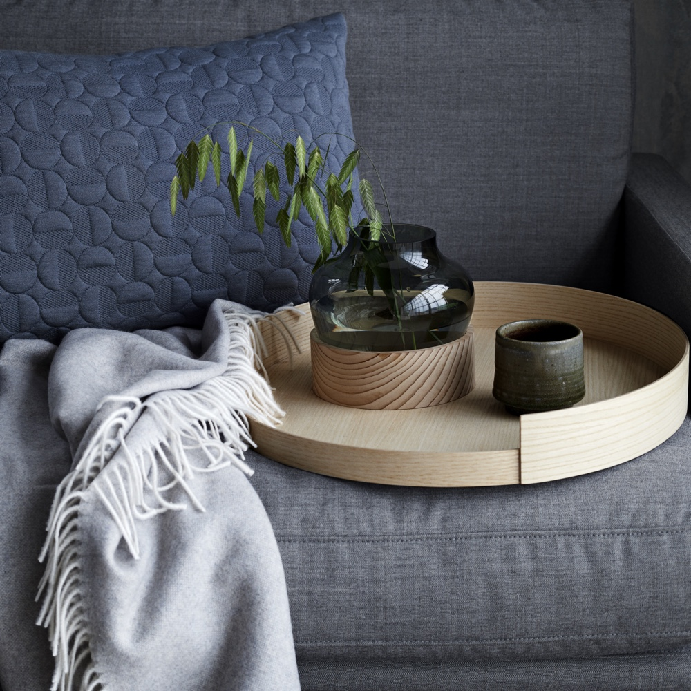 Cushion, Throw, Low Vase, Stack Tray #7
