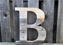 Custom wooden letter from Etsy shop Summer Design Shop 217x155 Decorating with Wooden Letters