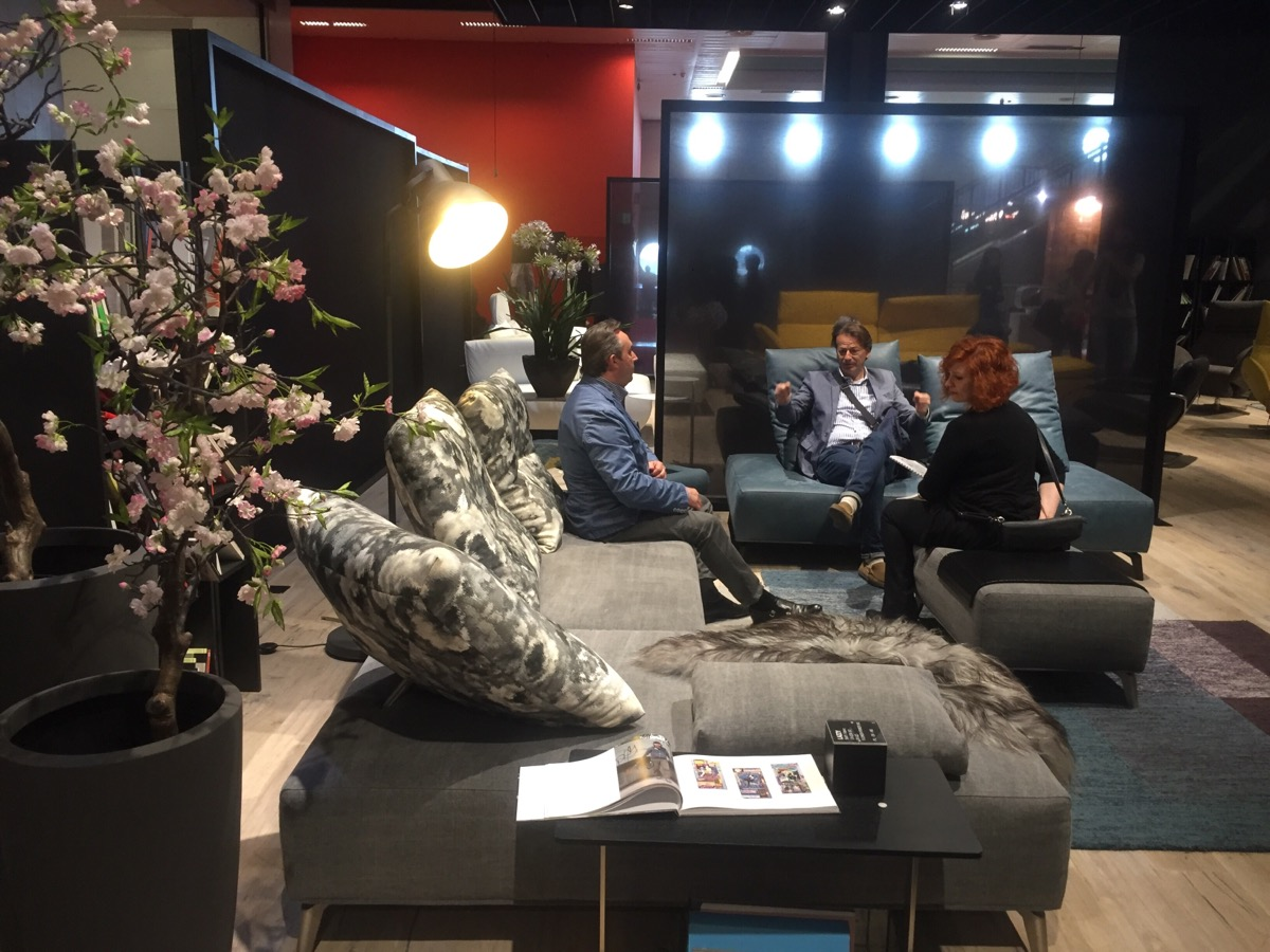 Cutting-edge and comfy sofa designs by Koinor at Salone del Mobile 2016