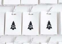 DIY advent calendar from Homey Oh My!