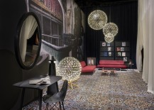 Dazzling Dialogues in Moooi setting 217x155 Moooi in Rebellious Harmony at Milans Salone del Mobile