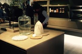 Ernestomeda kitchen designs showcased at EuroCucina 2016