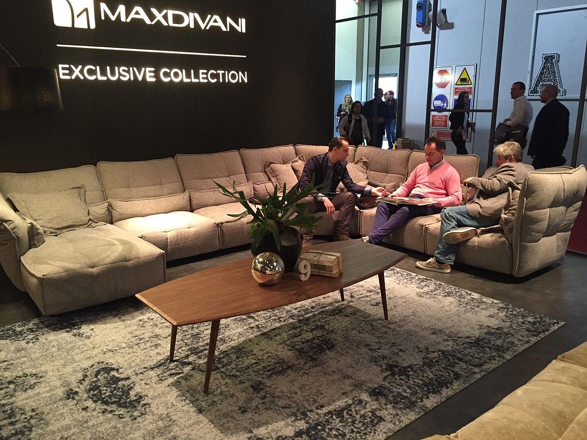 Exclusive sofa collection from MaxDivani by Salone del Mobile 2016
