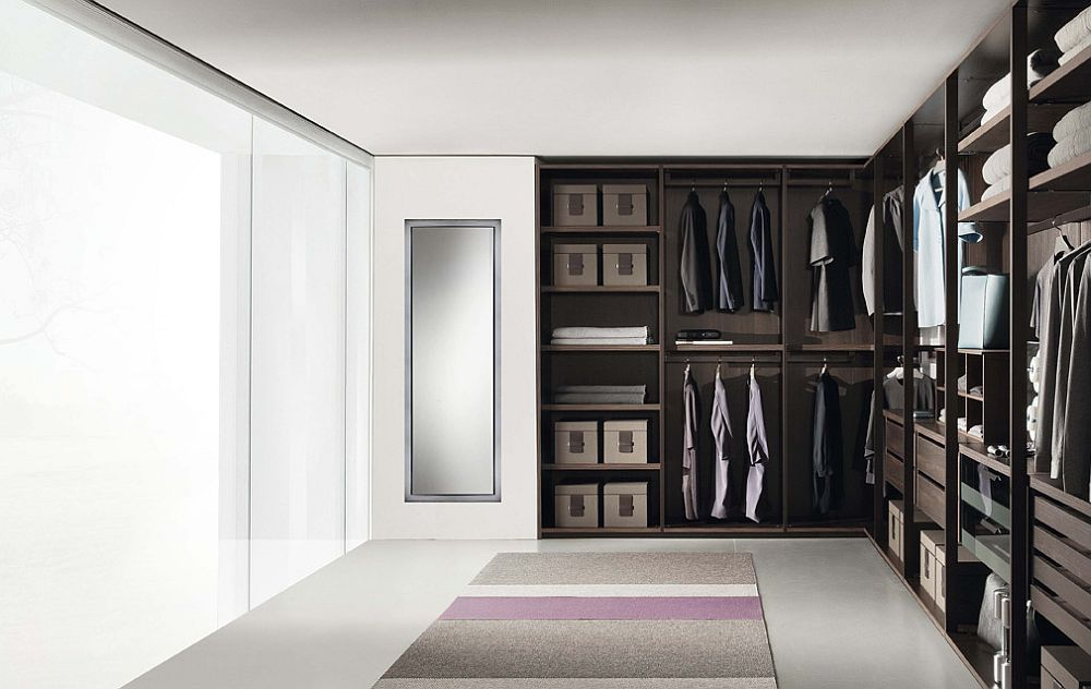 Expand the walk-in closet with your growing wardrobe