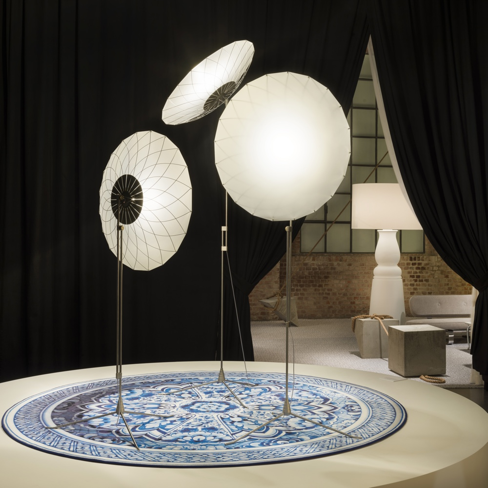 Filigree Floor lamps in Moooi setting