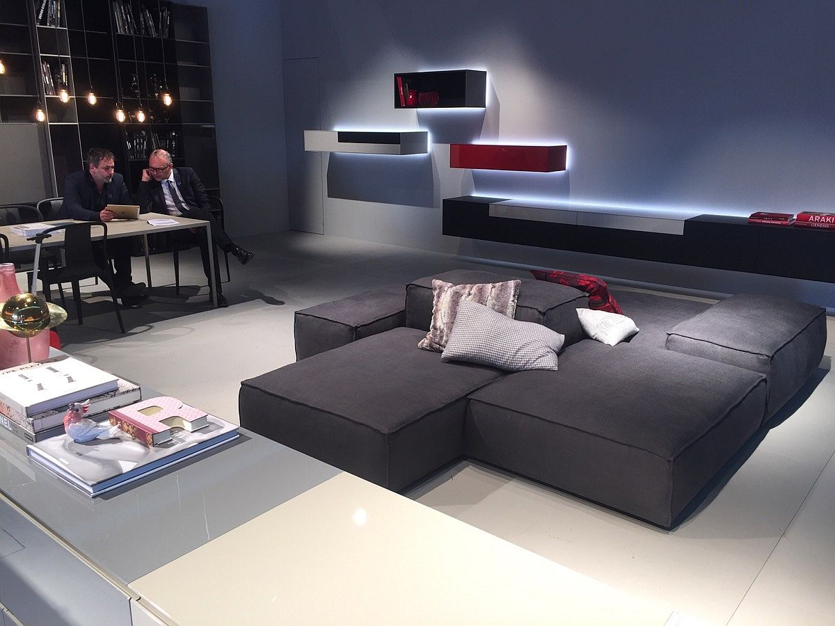 Find you own living room style with inspiration from PIURE - Salone del Mobile 2016