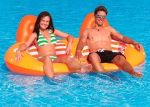 Floating lounger from Nautic Expo