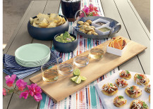 Fresh entertaining style from CB2 217x155 Table Style: 4 Festive Concepts for Spring Entertaining