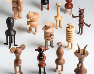 Life on the Funny Farm: A Quirky Family by Isidro Ferrer and LZF Lamps