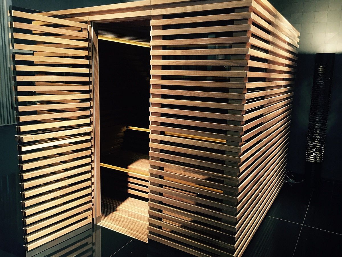 Futuristic sauna from KLAFS at Salone del Mobile 2016