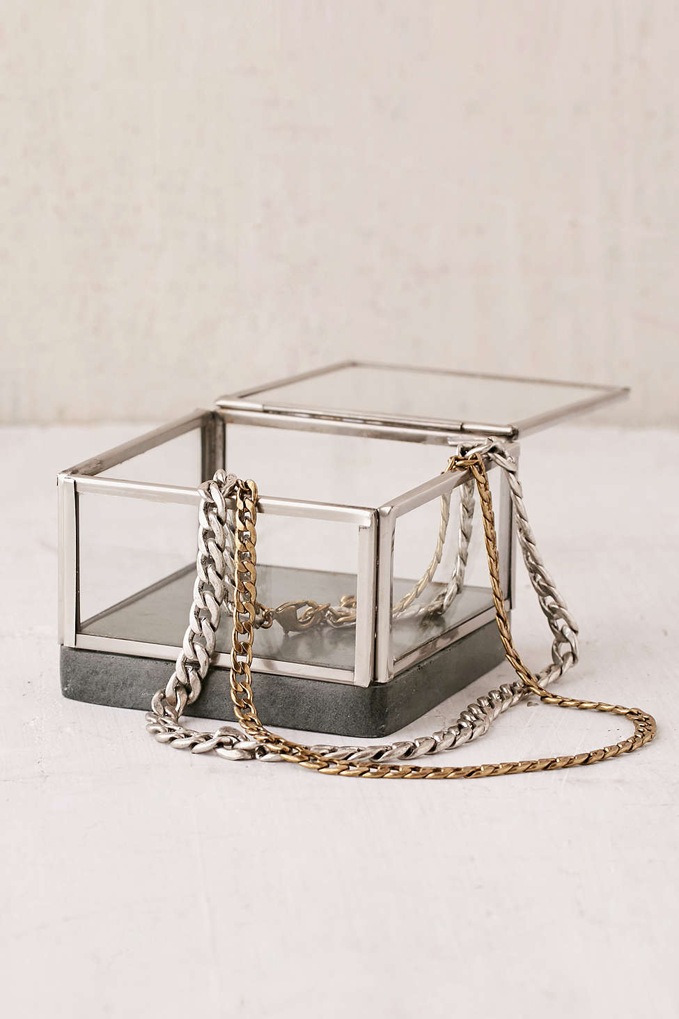 Glass display box from Urban Outfitters