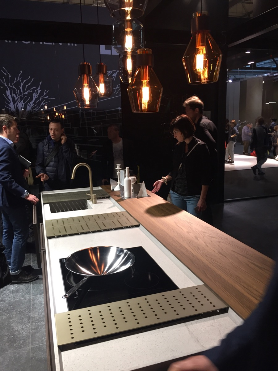 Gorgeous Binova kitchens at EuroCucina 2016